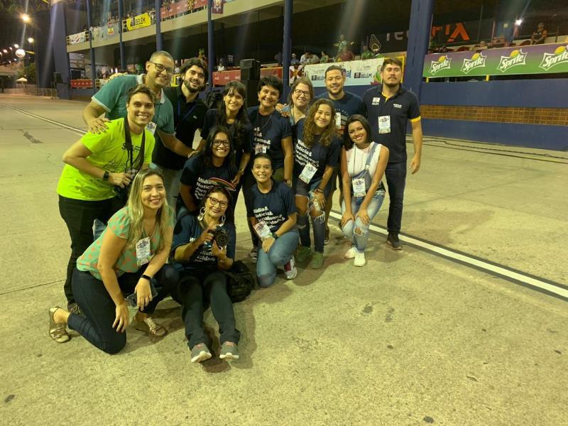 Outro ângulo da foto oficial da equipe Comus/Agência Belém