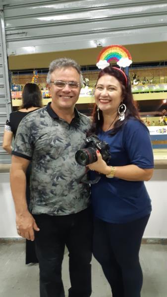 Leka e sua tradicional foto com o prefeito Zenaldo Coutinho