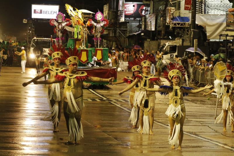 Além da escola Alegria Alegria, mais 11 escolas do Terceiro Grupo irão passar pela passarela do samba da Aldeia Amazônica