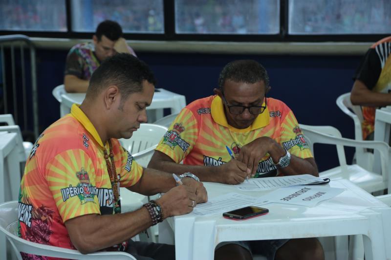 A apuração do Desfile Oficial das Escolas de Samba de Belém do Carnaval 2020 foi realizada pela Fumbel