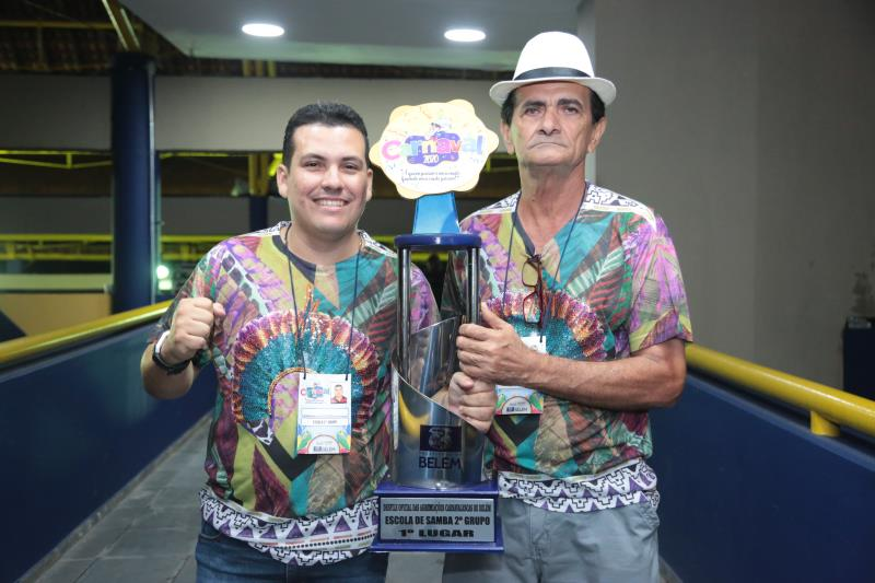 O título de campeã do segundo grupo ficou com a escola Acadêmicos da Pedreira, que conseguiu o acesso para o primeiro grupo
