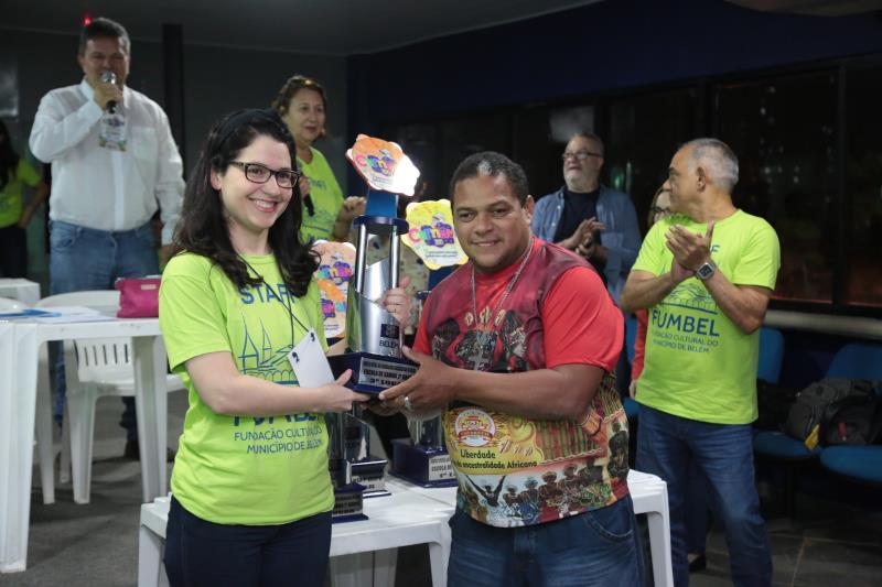 A Associação Carnavalesca Cacareco ficou com o terceiro lugar do segundo grupo