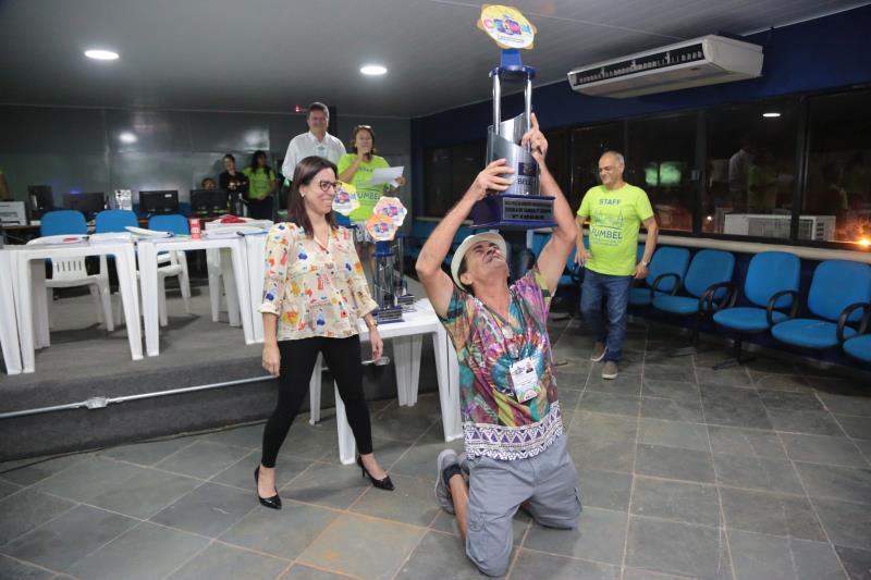 O presidente da Acadêmicos da Pedreira, Antônio Brazão, comemorou o acesso para o primeiro grupo