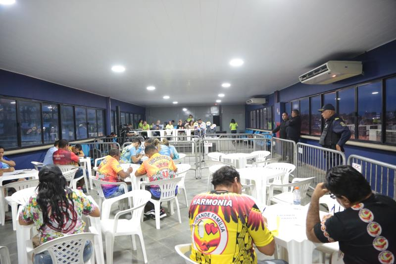 Apuração começou às 16 horas na Aldeia Amazônica, no bairro da Pedreira, nesta quarta-feira, 19