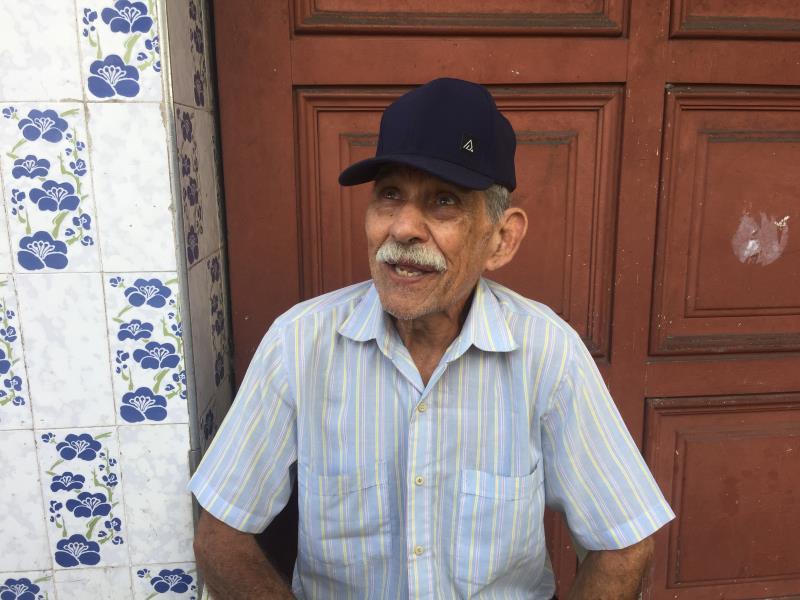Morador ilustre, Francisco Raimundo, o Quincas, foi  homenageado.