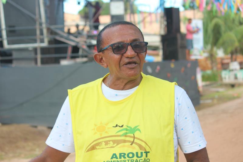 """Foi uma festa com muita alegria"""", disse Pedro Jorge, assessor de cultura da Arout."""