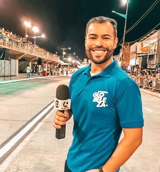 Luciano Cuns, da TV Liberal, e a cobertura do carnaval na Aldeia Amazônica