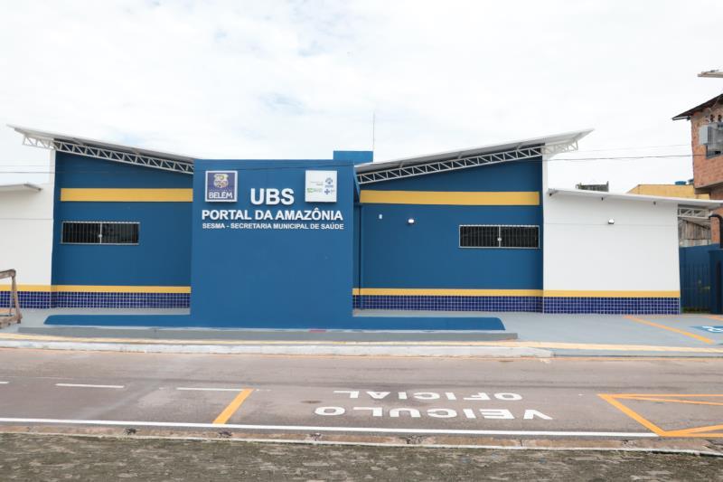 UBS Portal da Amazônia é uma das mais novas de Belém