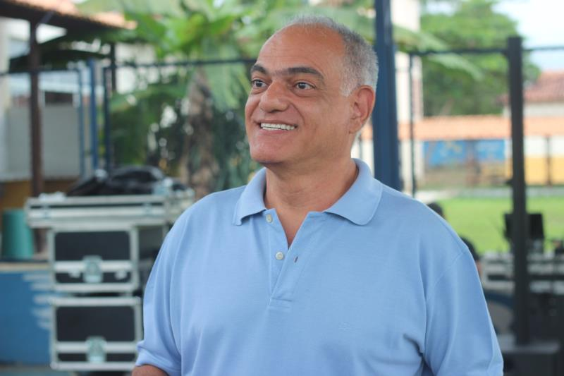 Celso Michiles, diretor cultural da Fumbel.