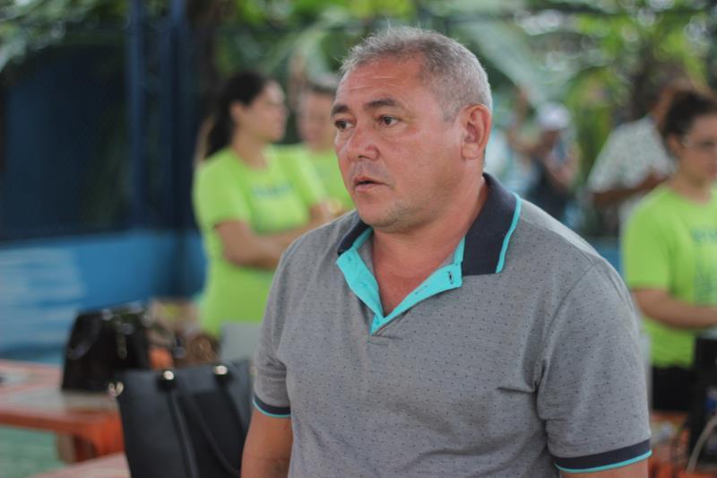 Nildo Matos, diretor geral da Agência Distrital de Outeiro.