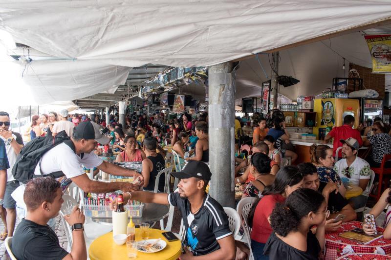 Edições do Circuito Gastronômico reuniram mais de oito mil pessoas.