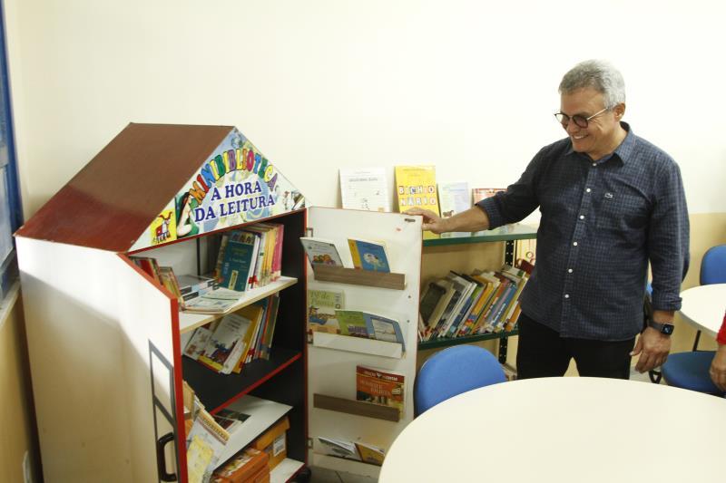 O prefeito Zenaldo Coutinho visitou as instalações da unidade.