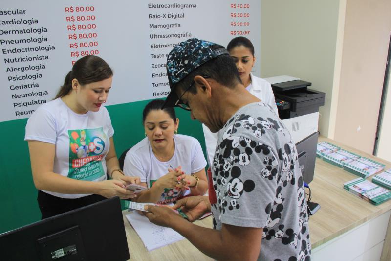 A unidade conta com 40 profissionais para garantir o atendimento dos pacientes.