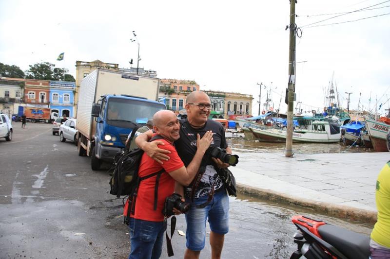 Encontro dos amigões Everaldo Nascimento e Sidney Oliveira