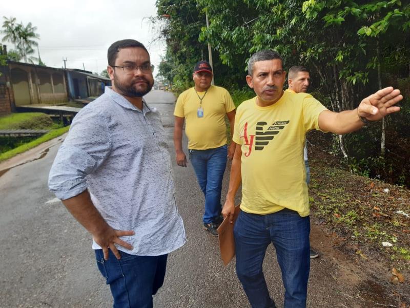 """""""Estamos conseguindo ampliar nossos serviços e reforçar os trabalhos para atender a população com mais dignidade"""", disse o administrador regional de Outeiro, Igor Fonseca"""
