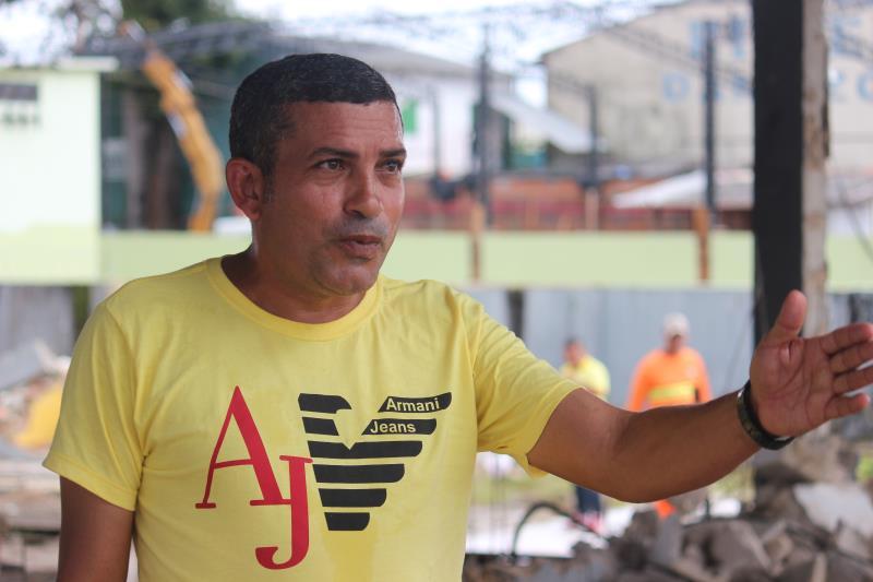 """Segundo Fernando Souza, diretor operacional da Arout, serão beneficiados vários bairros da ilha. """"Com esse trabalho vamos melhorar as condições de acesso a importantes vias de Outeiro"""""""