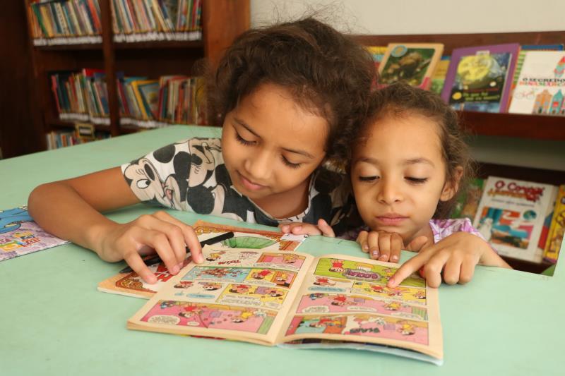 O projeto cultural Incentiva a leitura infantil.