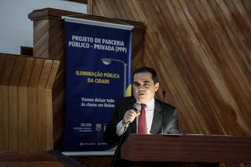 Mauro Gaia - Audiência pública / serviço de iluminação pública