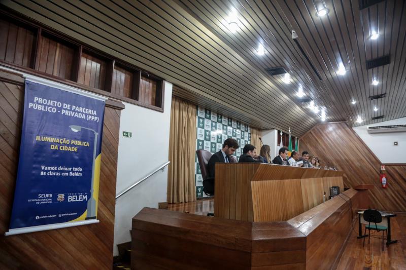 Audiência pública / serviço de iluminação pública