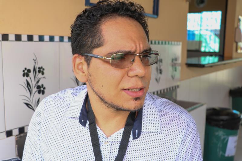 Fabrício Moraes, técnico do Programa Saúde nas Escolas.