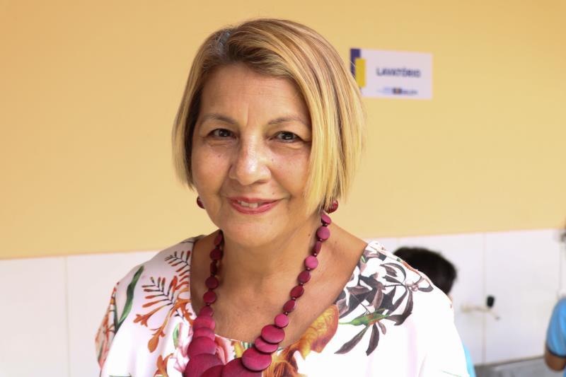 Professora Avani Faro, pedagoga.