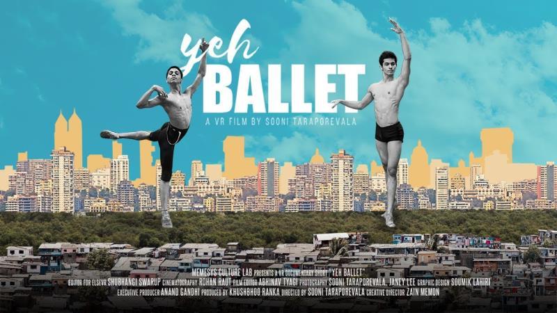 """""""O Grande Passo"""" conta a história de dois jovens indianos, de Mumbai, com um talento natural para a prática de balé, que são descobertos por um professor americano"""