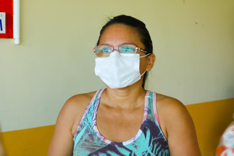 Dilma Pereira, mãe de aluna.