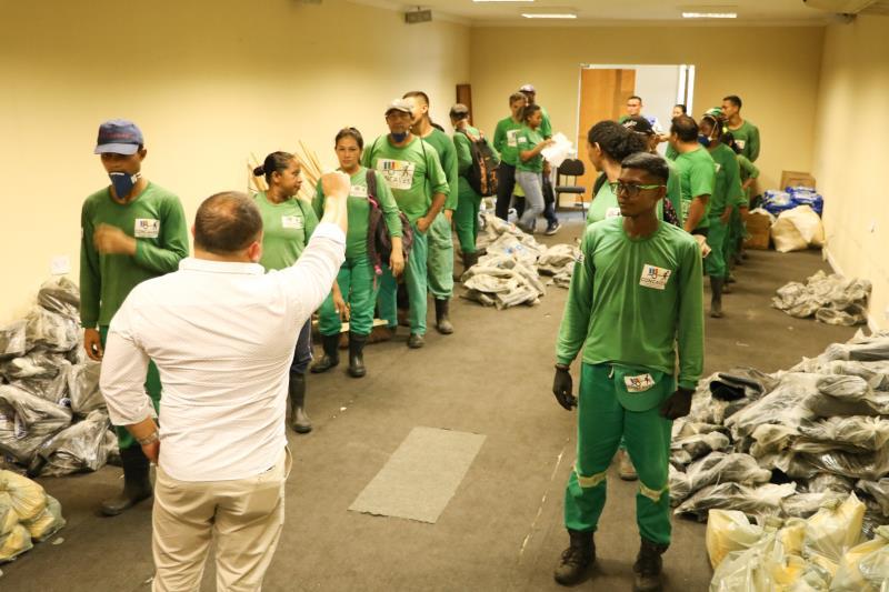A Prefeitura de Belém iniciou a entrega dos kits  de Equipamentos de Proteção.