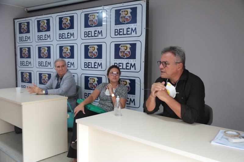 A categoria foi convidada pelo prefeito Zenaldo Coutinho para debater ações que podem ser executadas pelo município juntamente com a Secretaria Municipal de Economia (Secon) e Fundação Papa João XXIII (Funpapa).