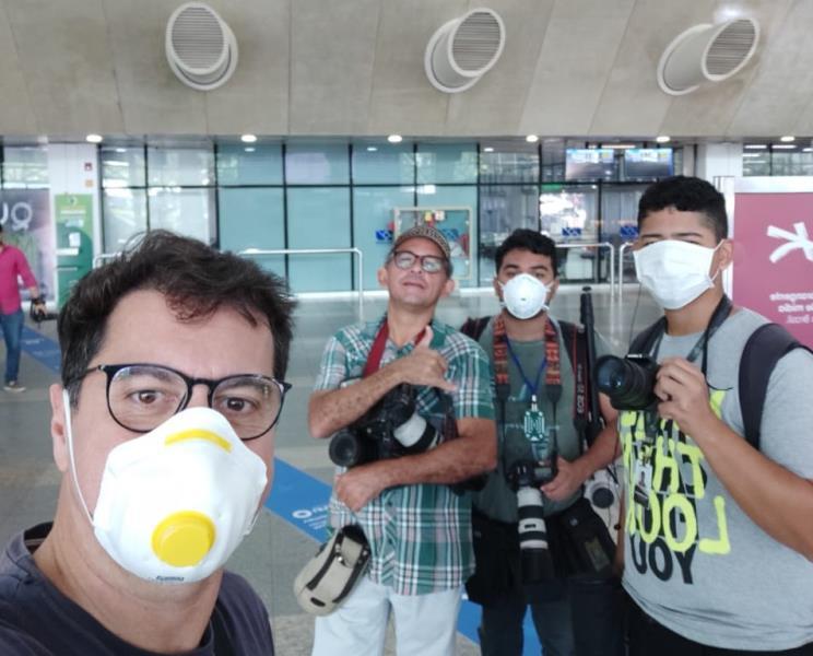 Esse time de fotógrafo corajoso com Fernando Sette, Marx Furtado, Filipe Bispo Alves e Raimundo Paccó