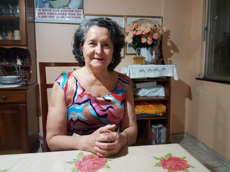 A bancária aposentada Rita de Fátima Sousa é frequentadora assídua do cinema