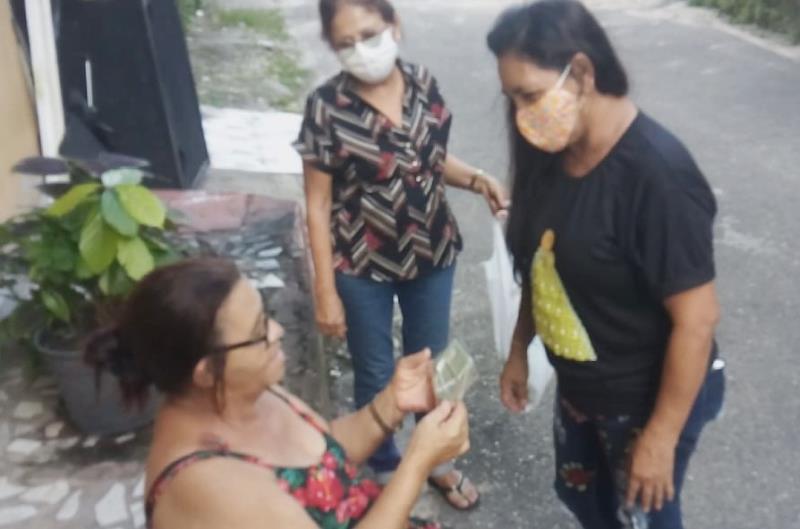 Vera Lúcia Lopes quer todo mundo protegido contra a covid-19