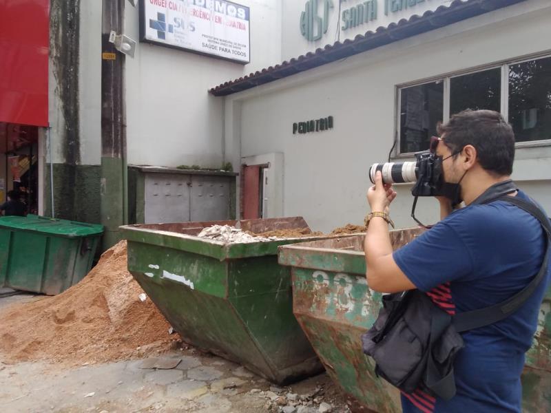 Agora, é o Igor Mota, o Motinha, apontando o foto da câmera