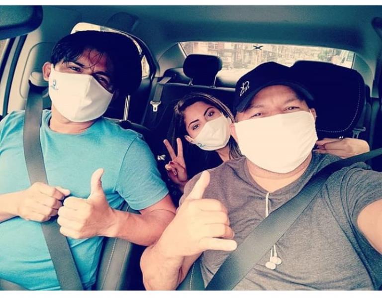 Na rua, no carro, na pauta, a galera da TV Liberal, com Danielle Dias e Moisés Henrique