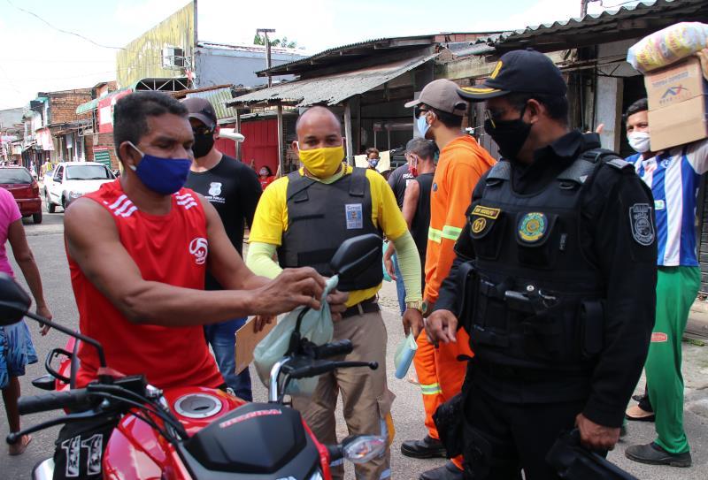 Operação conjunta entre os órgãos municipais fiscalizou feiras de Belém.