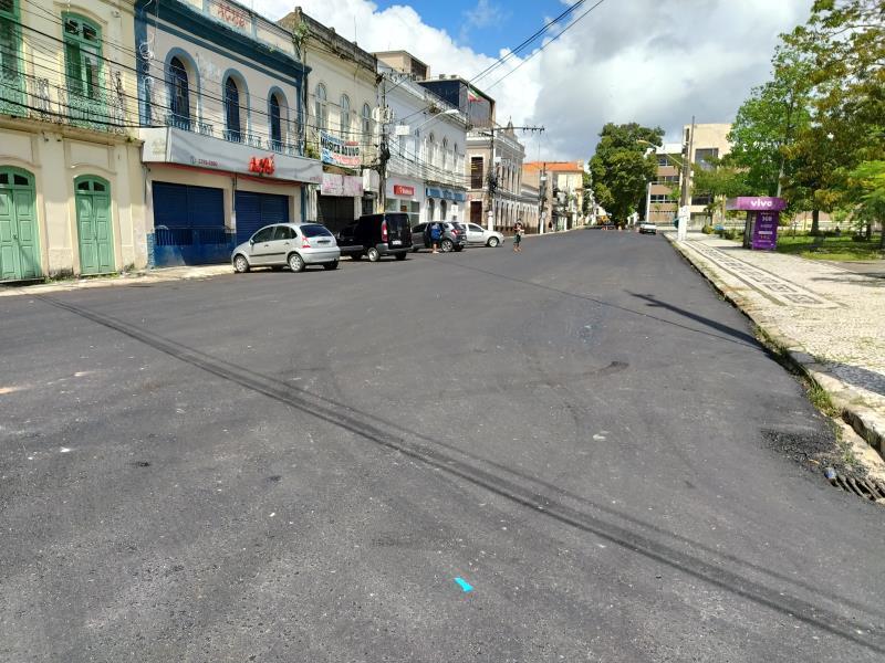 Rua João Diogo – Trav 16 de novembro até igreja são João Batista.