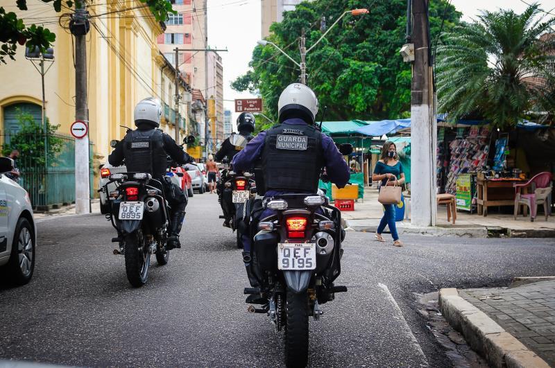 Com a fusão, a Rondac reforçará a vigilância nas ruas de Belém
