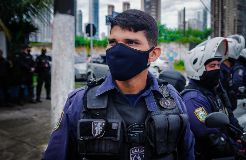 """O guarda Luciano Souza, que fazia parte do Romu, diz que a transição tende a ser positiva: """"Somos agora um grupamento totalmente especializado, capacitado, com agilidade e rapidez. A sensação de segurança vai melhorar""""."""