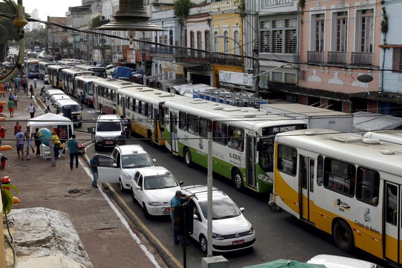 Alteração no itinerário de 20 linhas de ônibus que passam pelo mercado do Ver-o-Peso