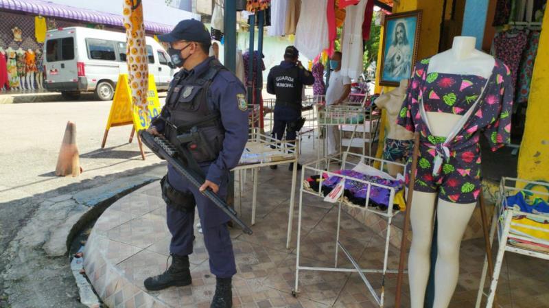 Ao todo, 81 lojas foram vistoriadas em Mosqueiro.