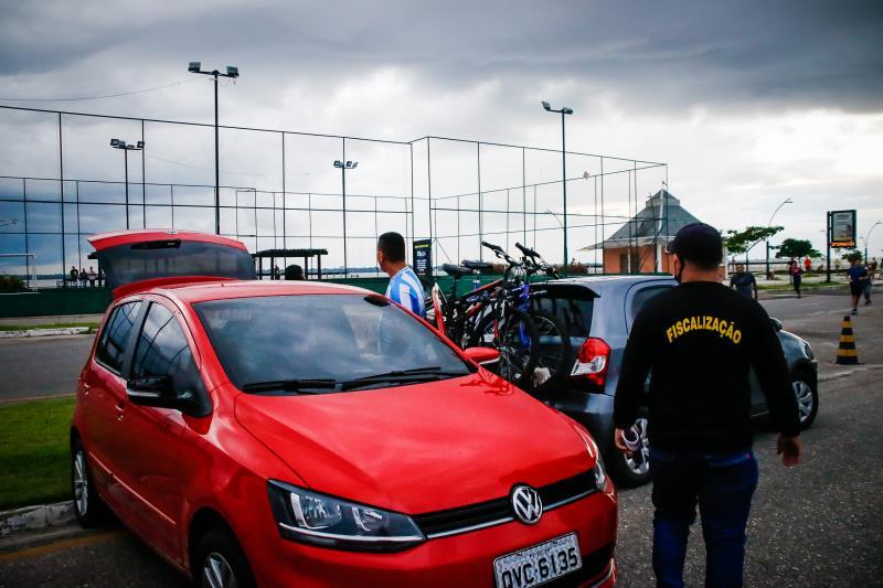 Fiscais evacuaram o Portal da Amazônia nesta quinta-feira, 11