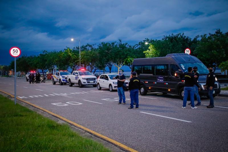 Fiscais evacuaram o Portal da Amazônia nesta quinta-feira, 11, feriado de Corpus Christi