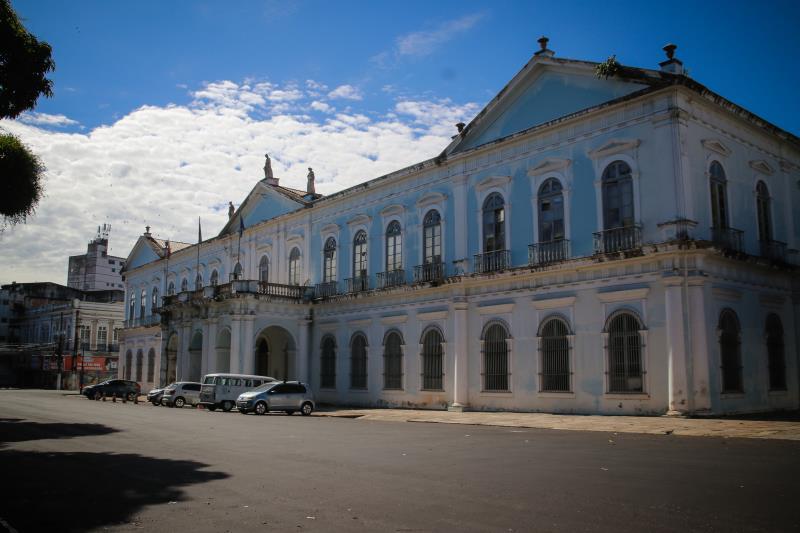 Palácio Antonio Lemos passa por revitalização