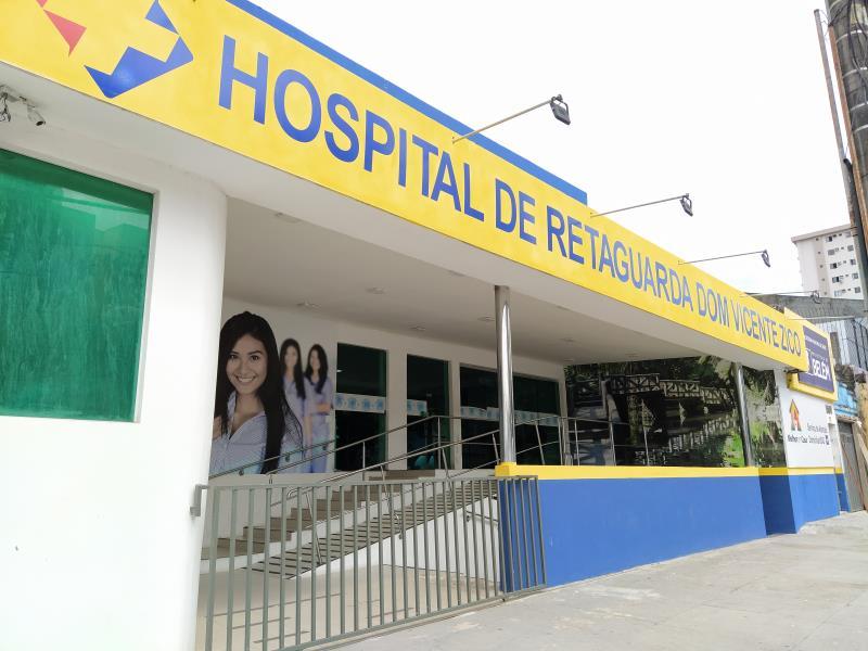 Dom Vicente Zico é hospital de retaguarda para o tratamento de pacientes com o novo coronavírus, em Belém.