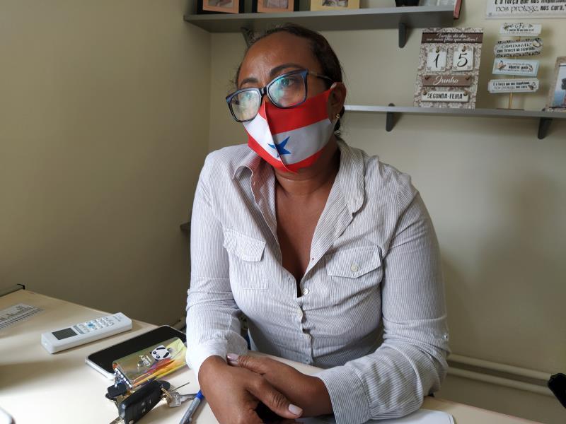 Odete Barbosa Vieira, diretora do hospital.