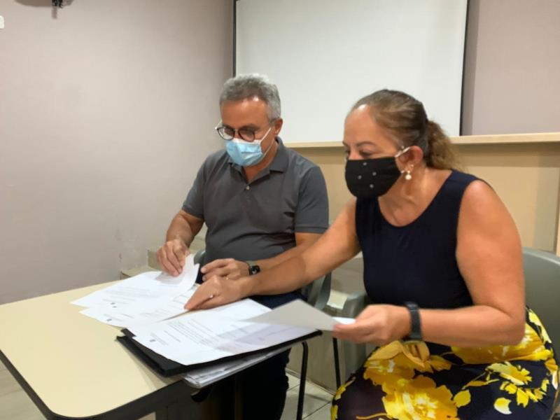 O prefeito Zenaldo autorizou obras em mais duas escolas municipais: a Padre Leandro Pinheiro, no Guamá, e a Ana Barreau Mininéia, em Mosqueiro
