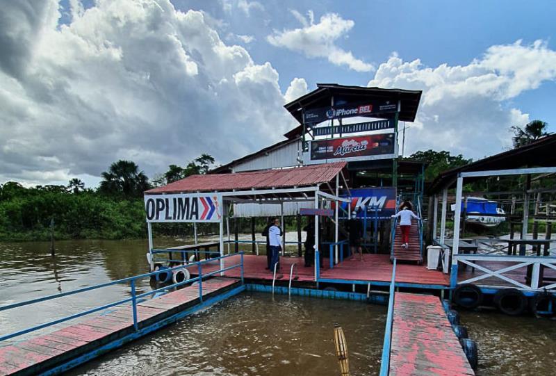 Comitê de Segurança Municipal também atuou na ilha do Combu neste sábado.
