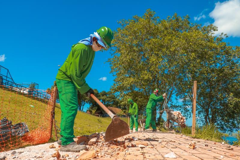 O investimento da obra é de R$ 1,1 milhão, com prazo de execução de cinco meses