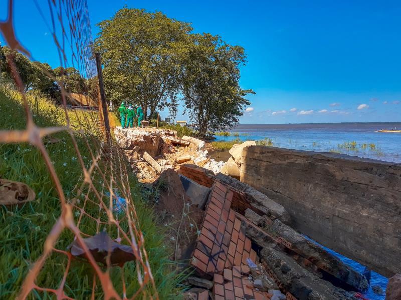 Começou nesta semana a demolição das áreas danificadas