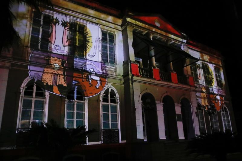 Espetáculo foi foi transmitido ao vivo pelo Instagram da Prefeitura de Belém